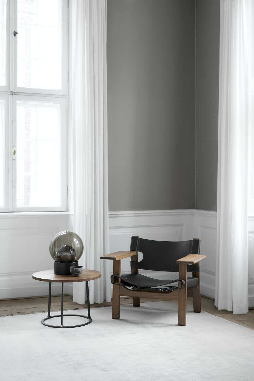 Fredericia furniture the spanish chair black insitu haute living