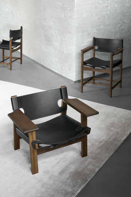 Fredericia furniture the spanish chair black insitu trio haute living