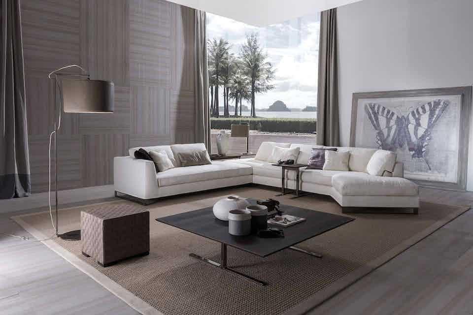 Frigerio davis sofa insitu haute living