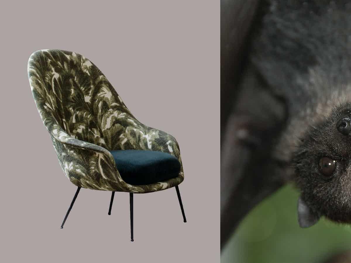 Gubi bat chair edit