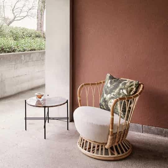 Gubi grace lounge chair