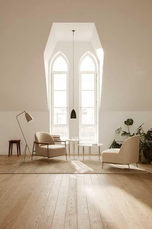 Gubi sejour lounge chair insitu haute living