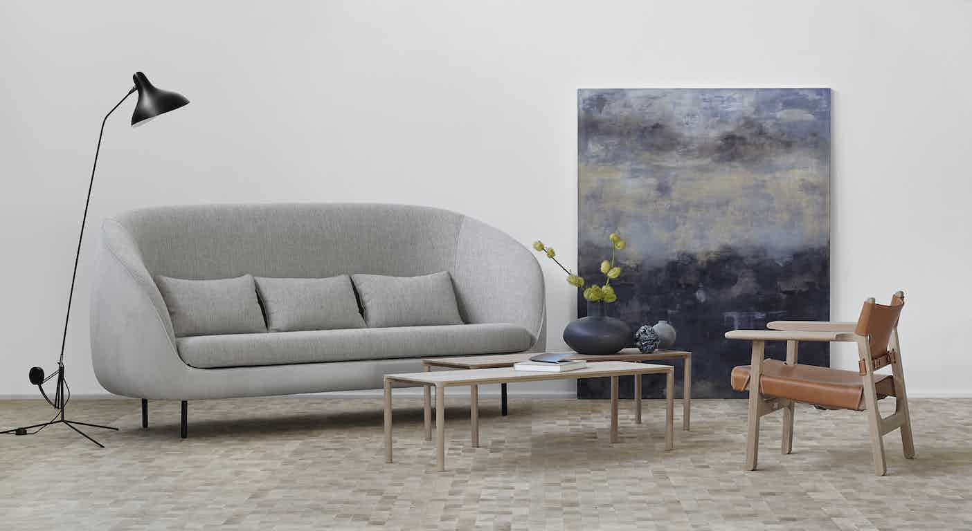 Haiku 3 seat sofa by fredericia at haute living