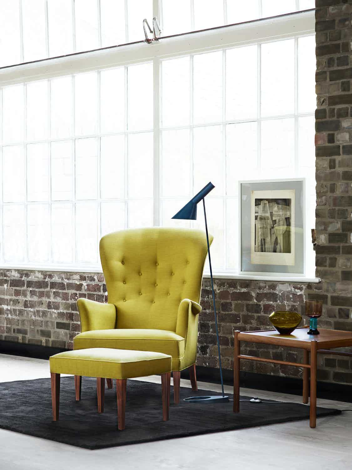 Heritage Chair by Carl Hansen & Son, now available at Haute Living