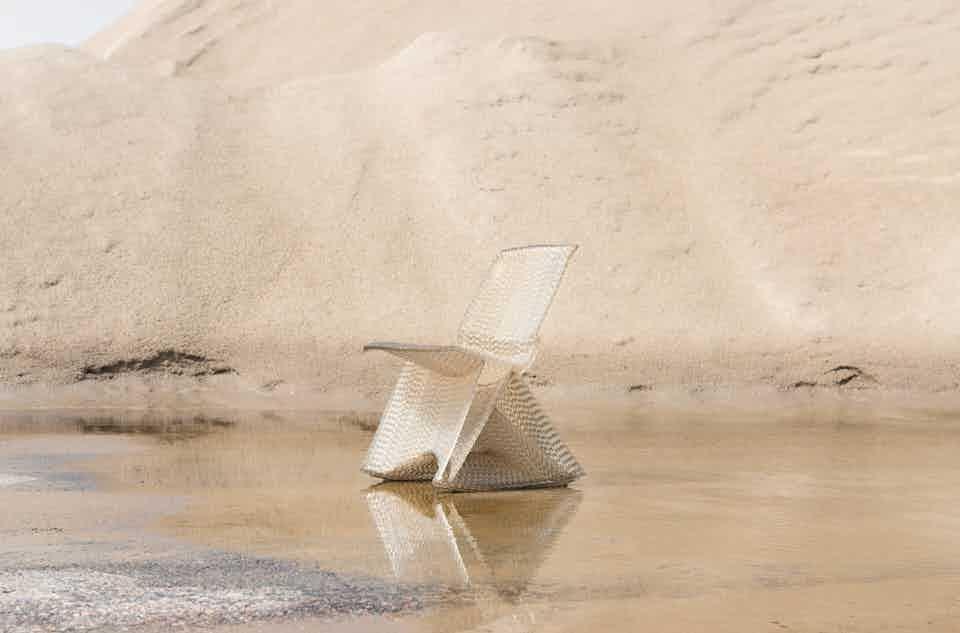 Kooij endless rocking chair haute living
