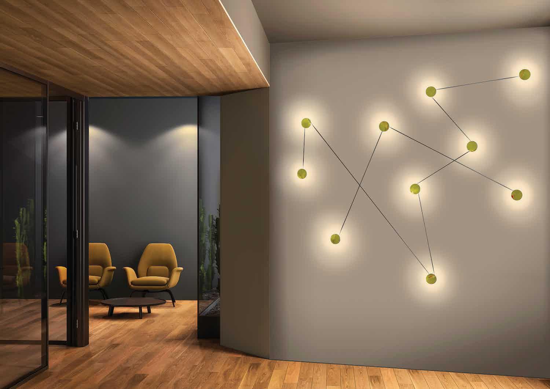 Kundalini lighting azou wall lamp insitu haute living