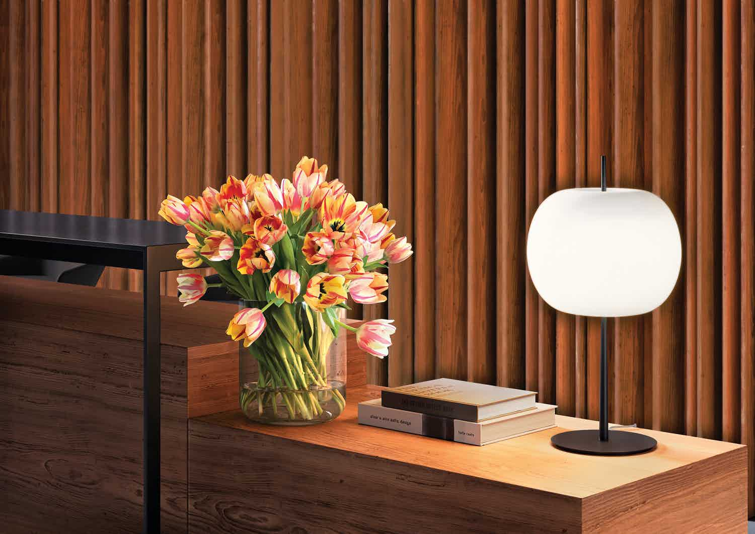 Kundalini lighting kushi xl table lamp insitu haute living