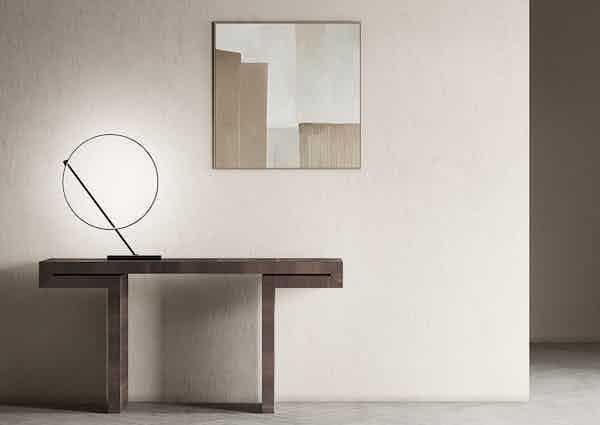 Kundalini lighting poise table lamp insitu haute living