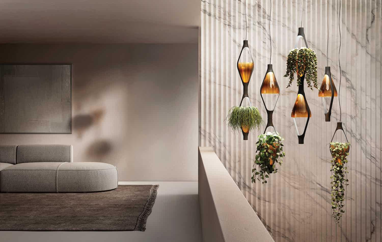 Kundalini lighting viceversa suspension lamp insitu haute living