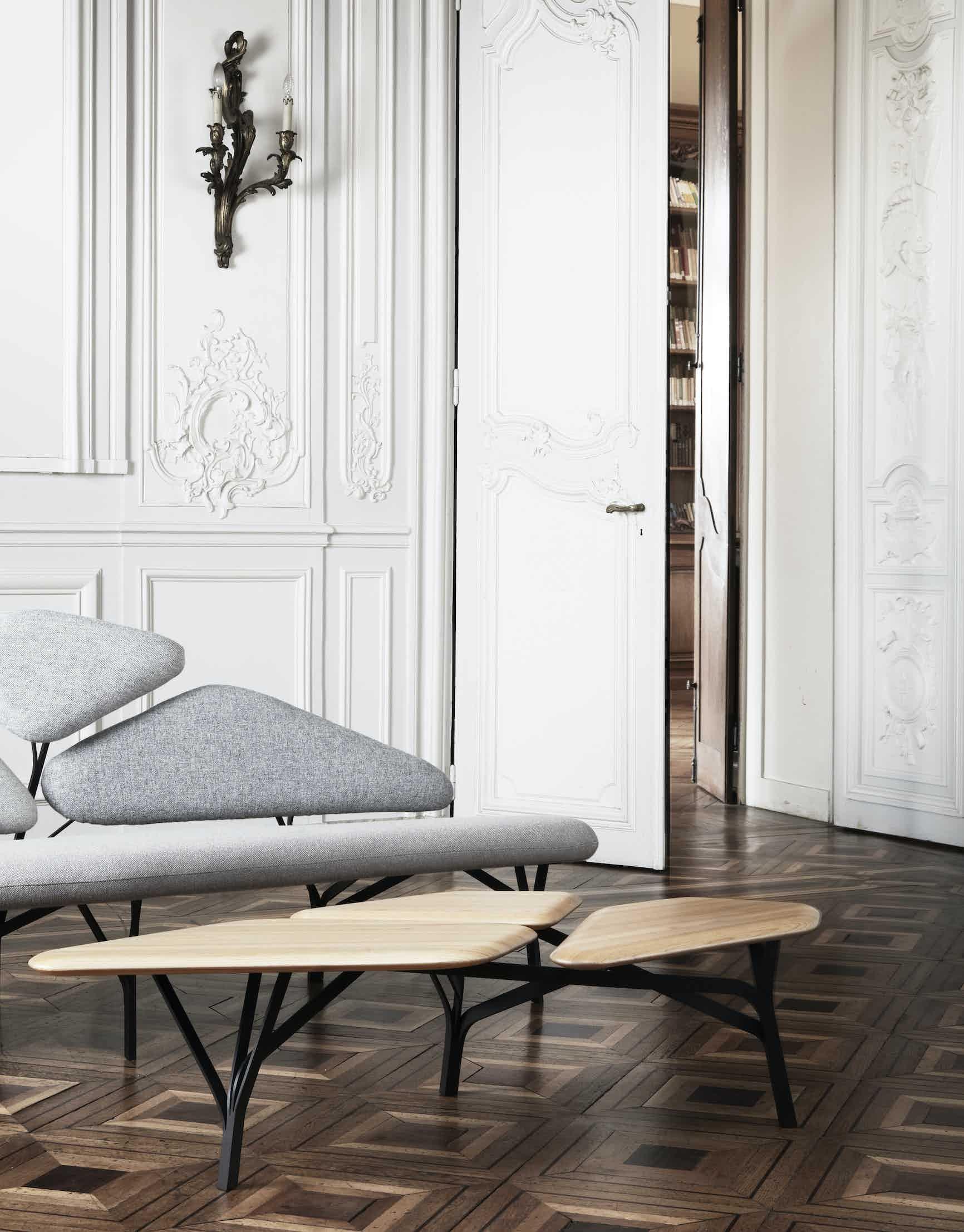 La chance furniture borghese coffee table insitu haute living