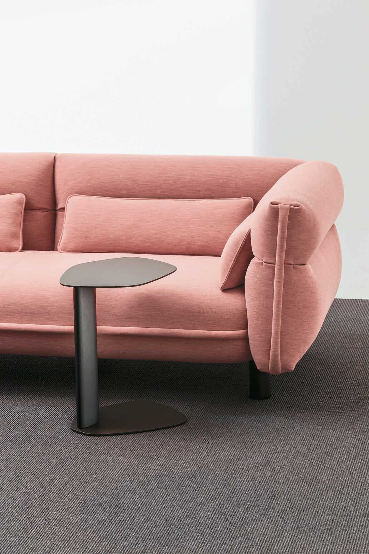 La cividina keisho coffee table peach insitu haute living