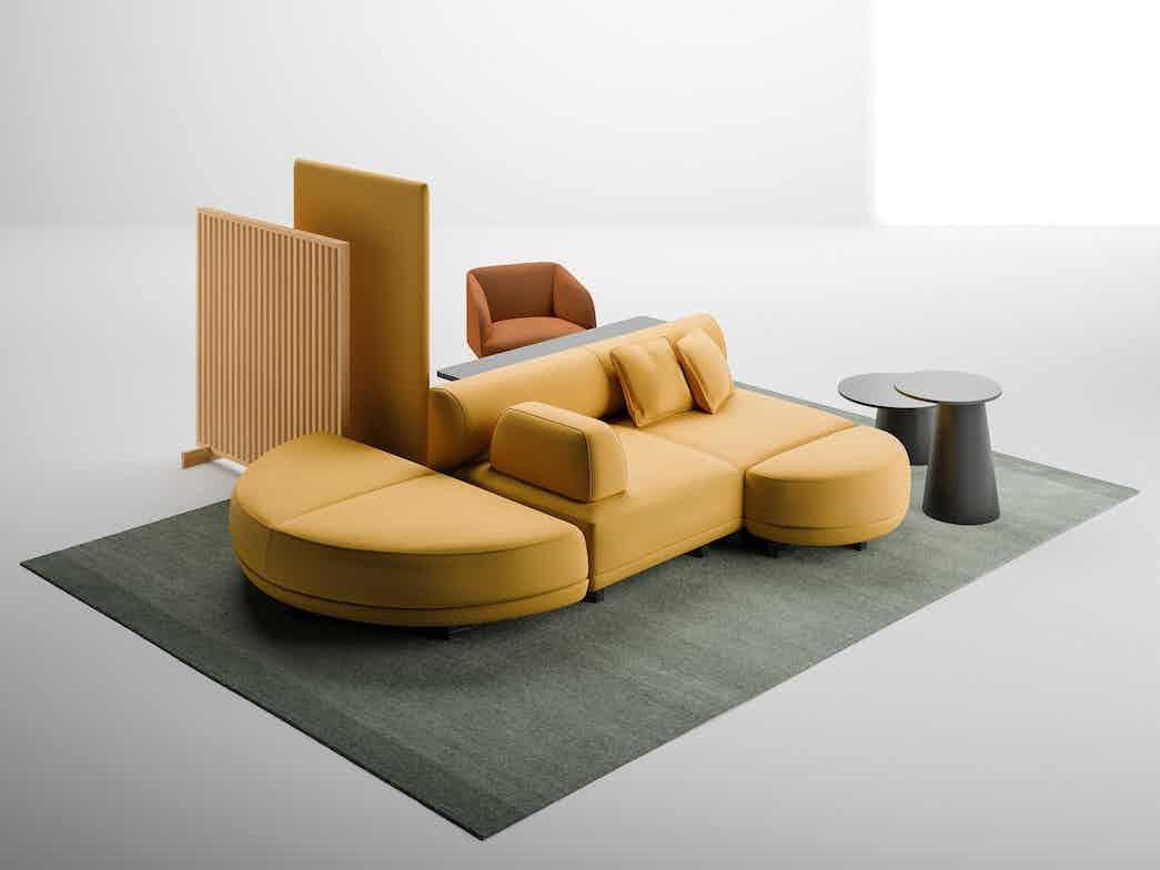 La cividina node node modular sofa system 6