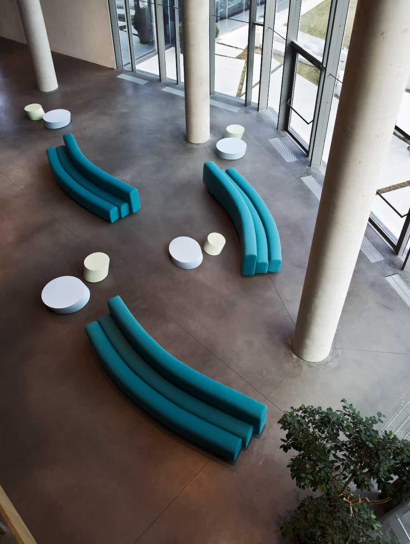 Lacividina osaka sofa turquoise insitu haute living