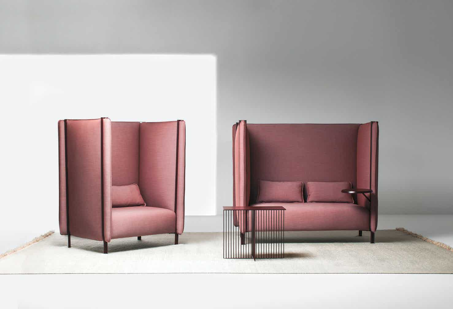 Lacividina pinch armchair and sofa haute living