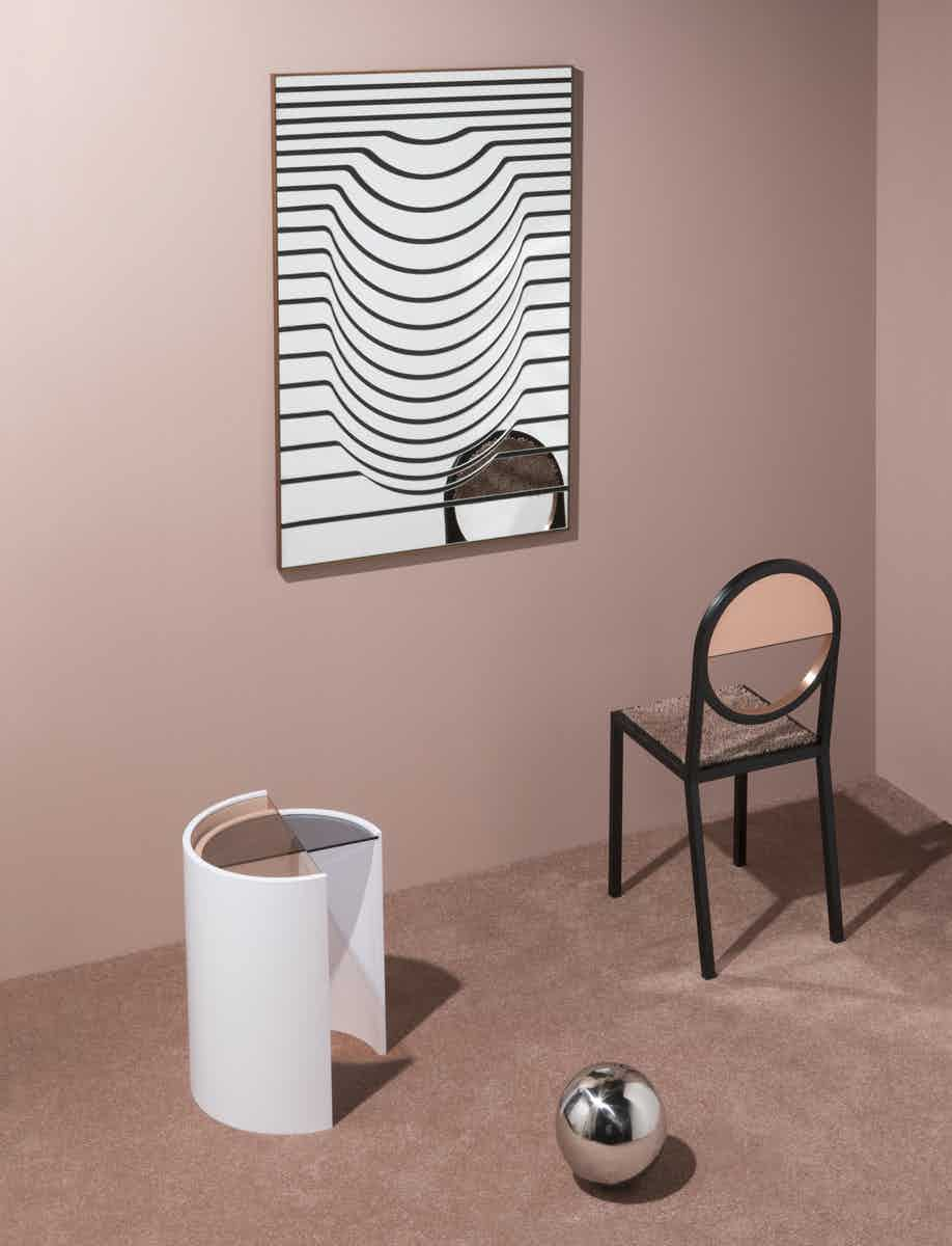Line mirror by bower at haute living