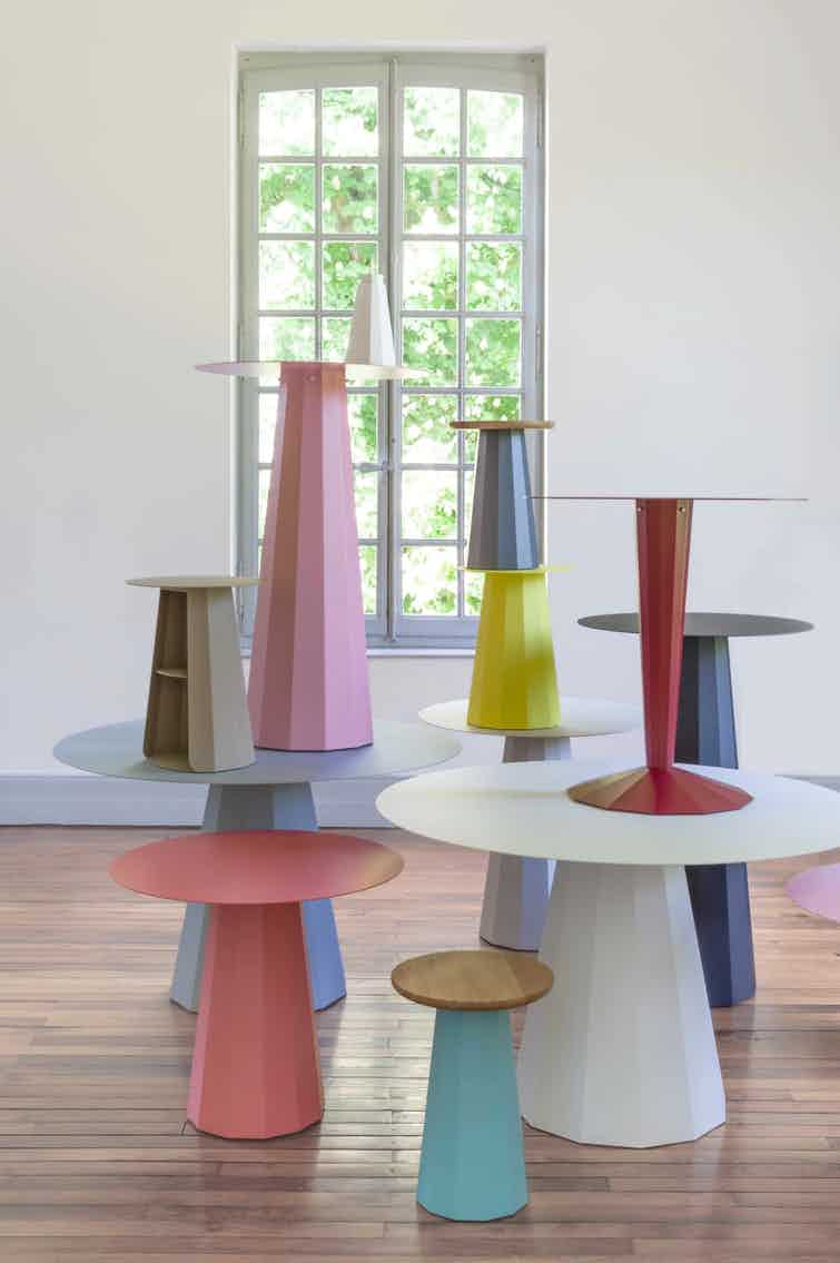 Matiere grise french tables haute living