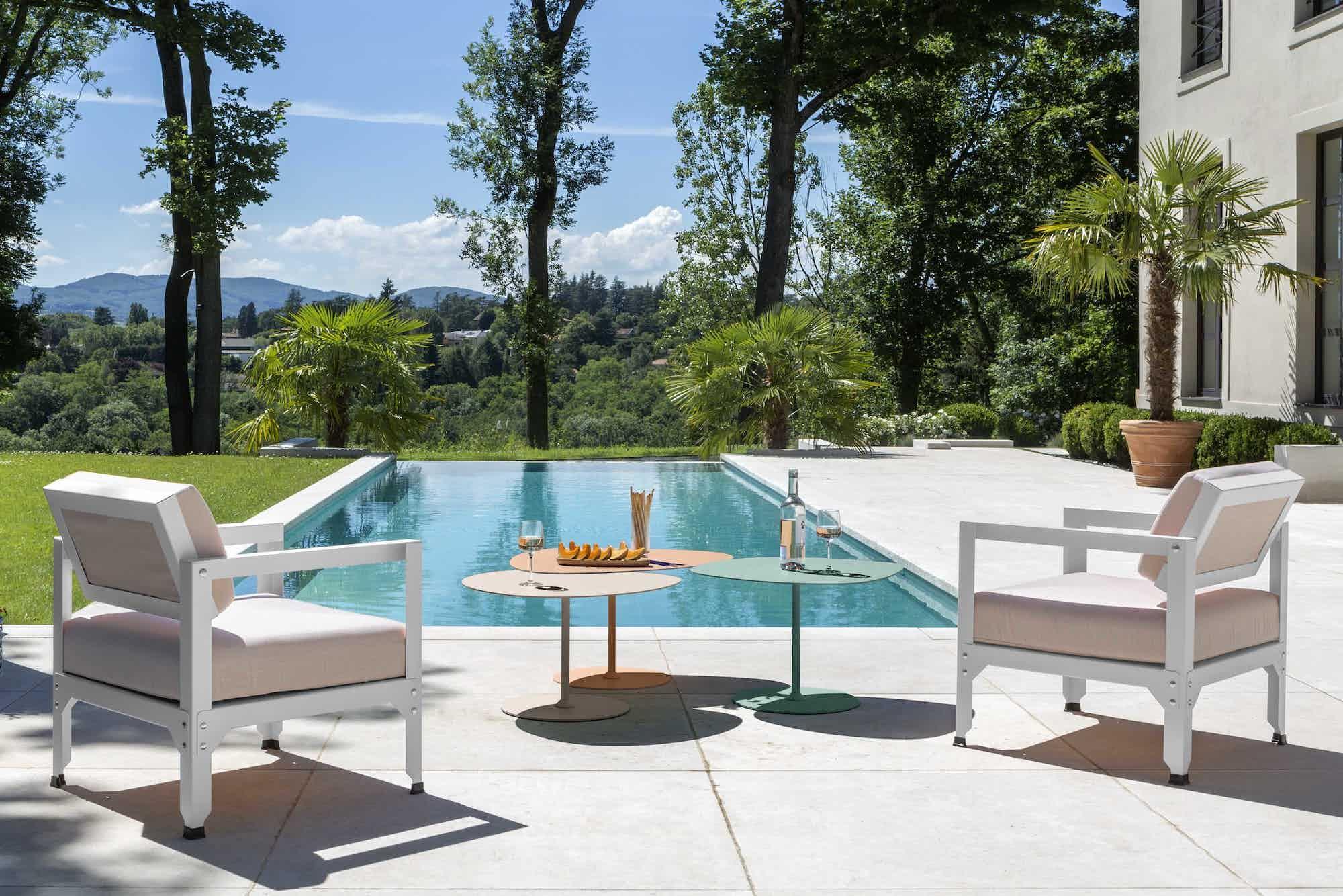 Matiere grise luc jozancy hegoa fauteuil exterieur salon jardin terrasse