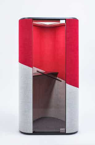 Mdd furniture hana acoustic pod front haute living