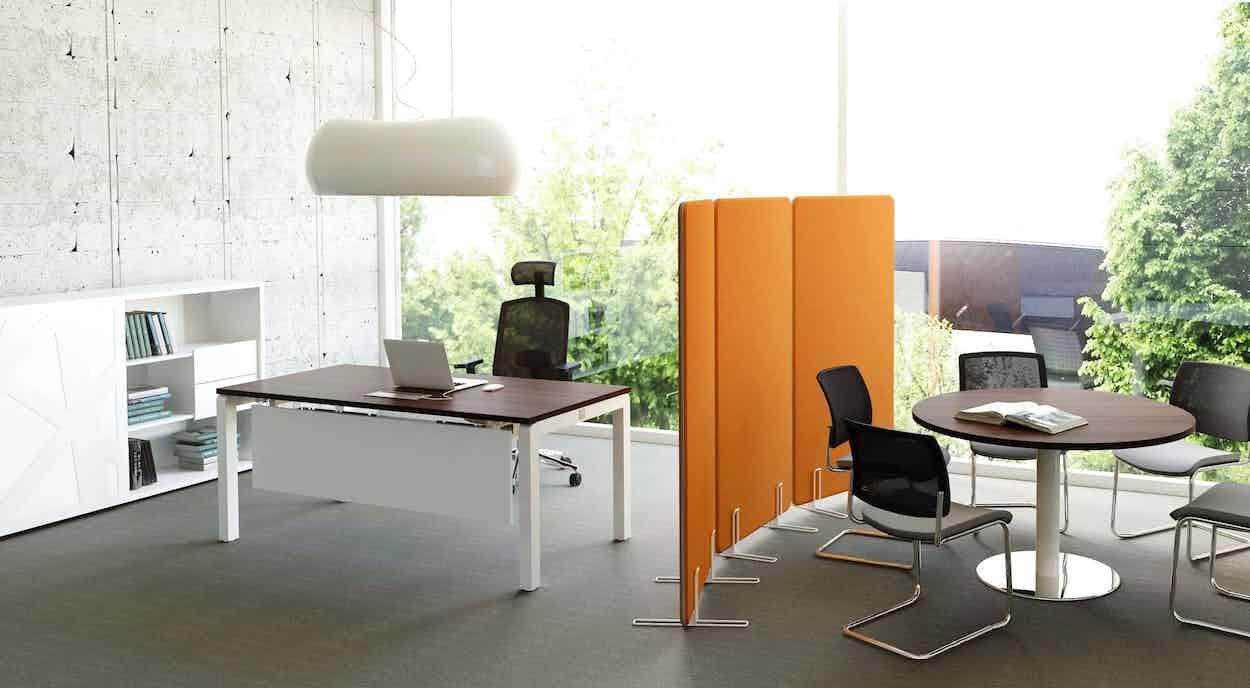 Mdd furniture partition walls insitu orange haute living