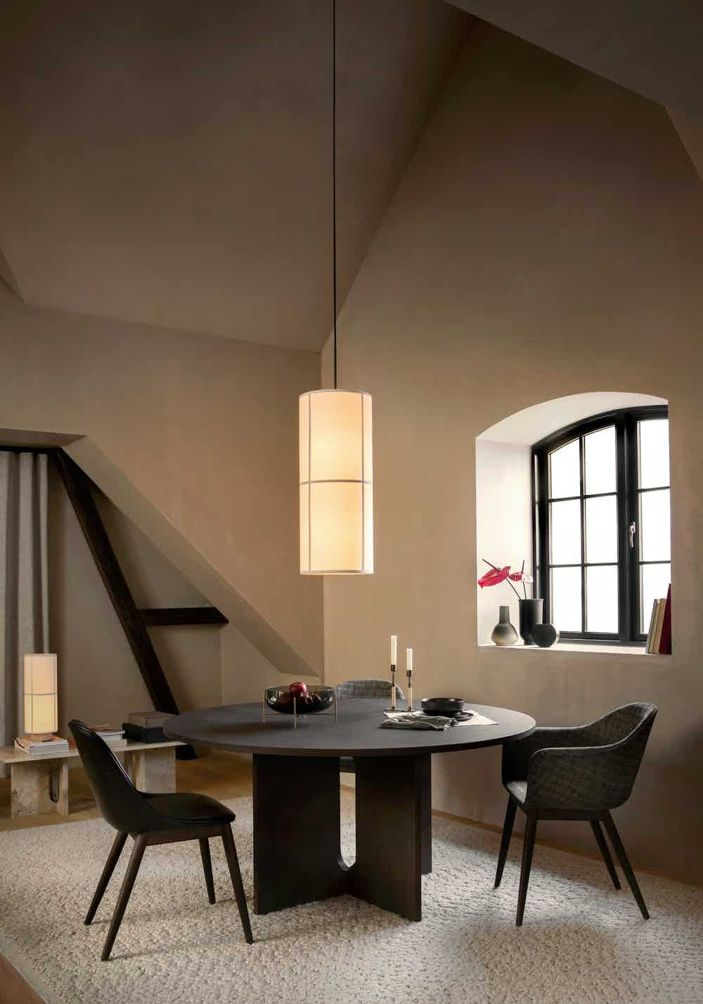 Menu furniture androgyne dining table insitu large haute living