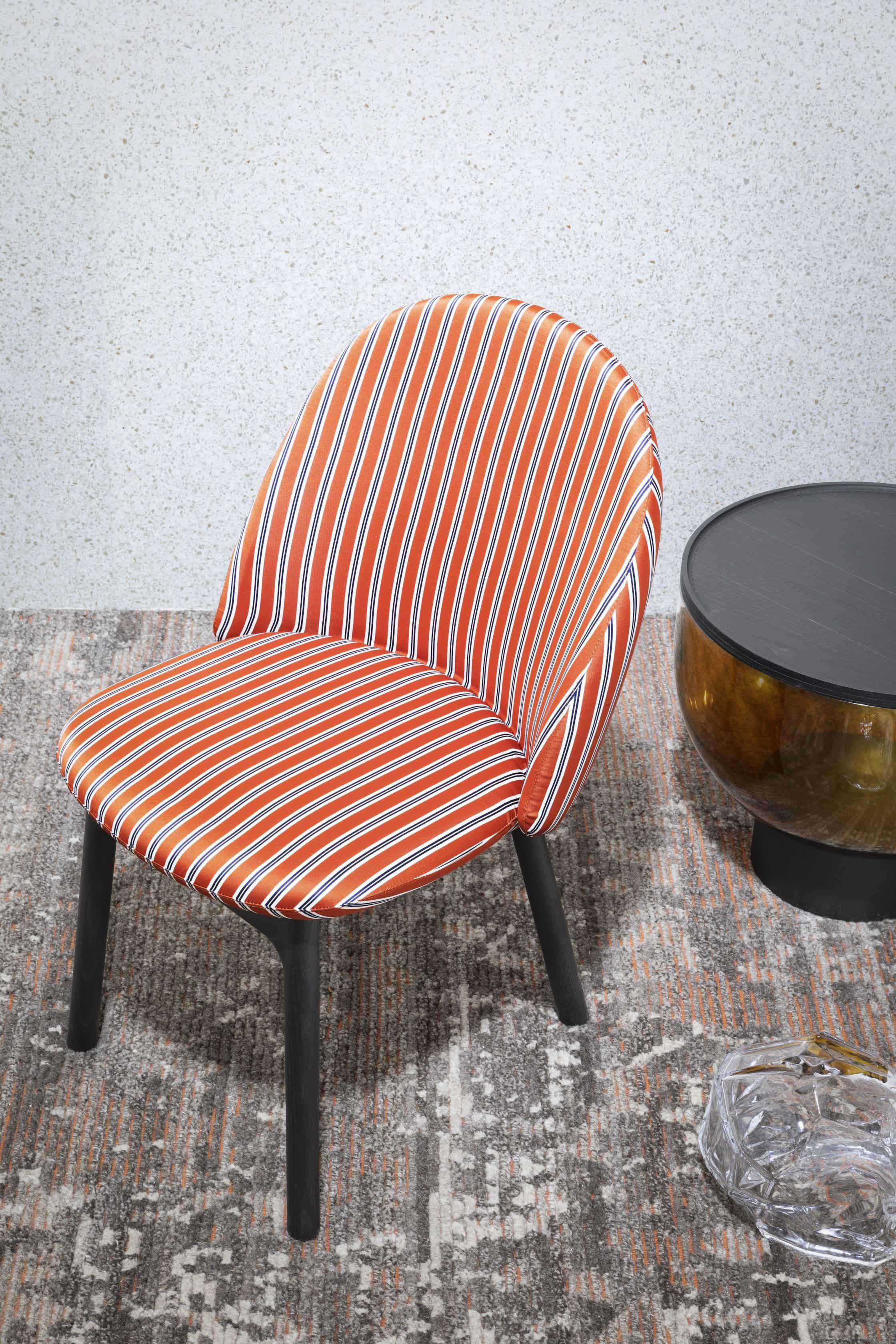 Miniforms-iola-chair-stripe-haute-living
