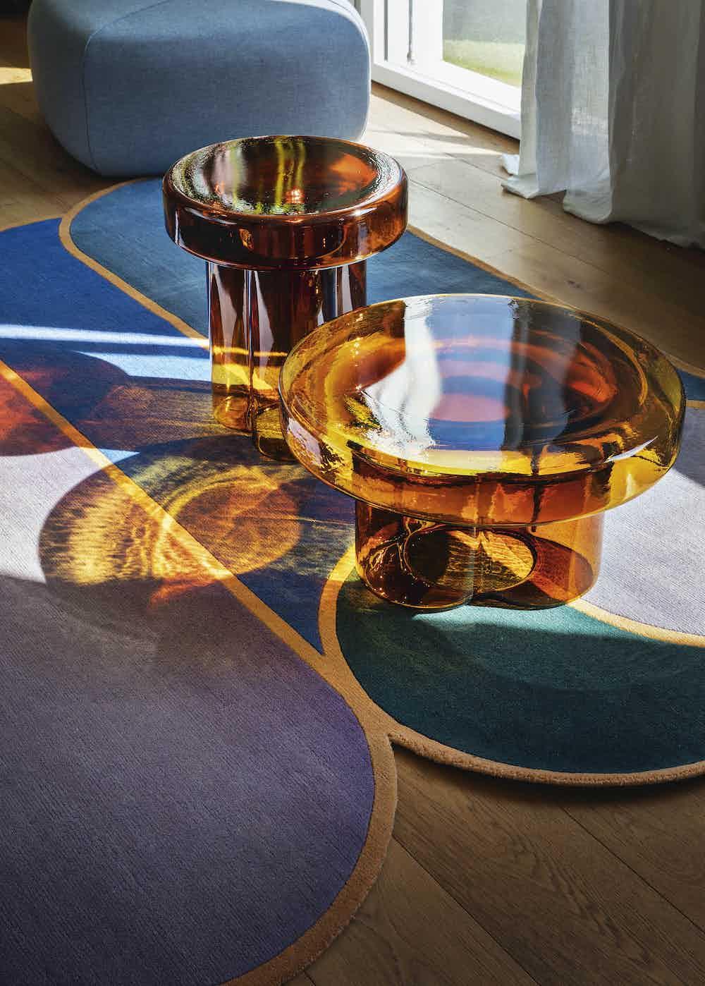 Miniforms soda table orange duo haute living