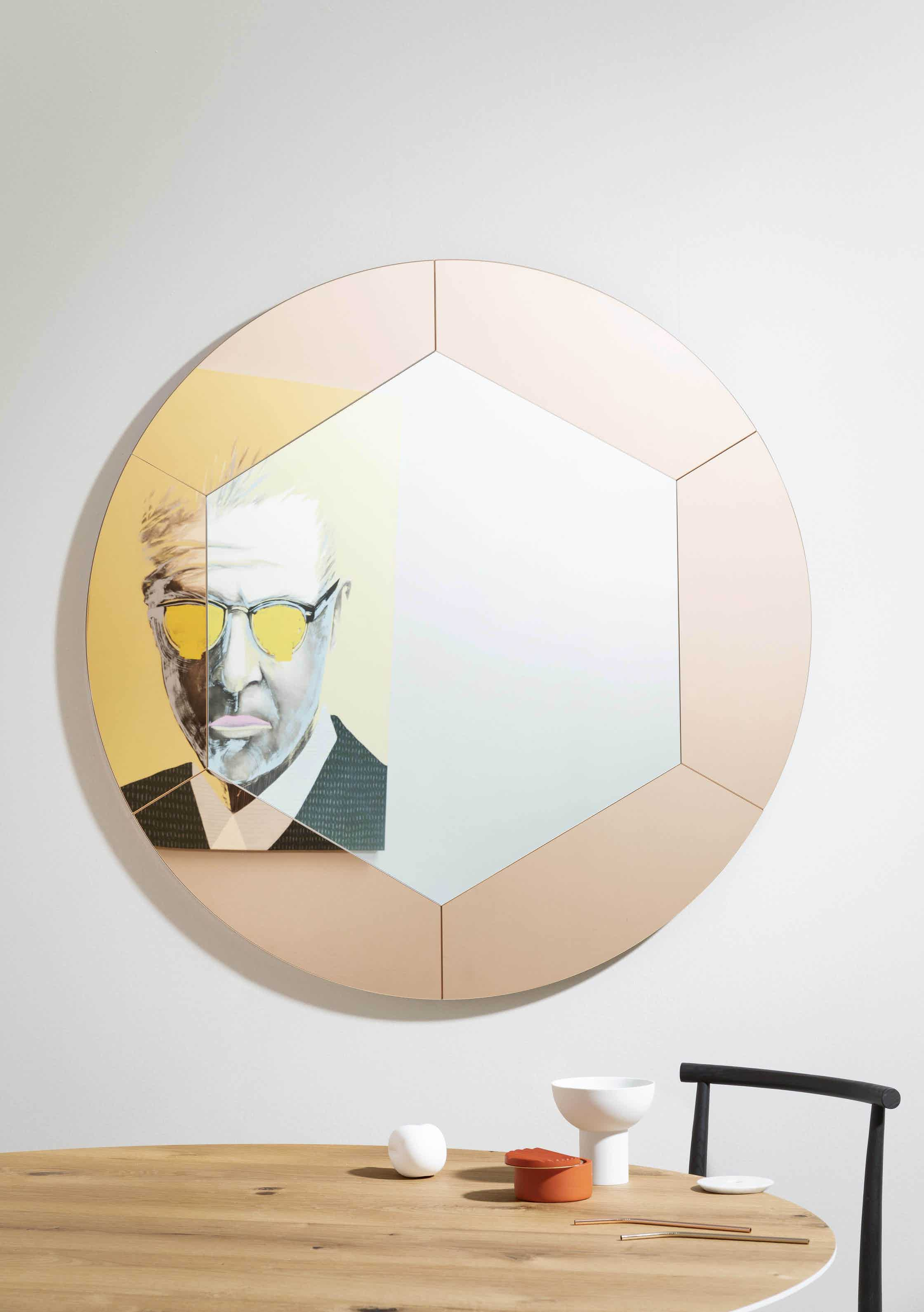 Miniforms tropicana mirror single haute living