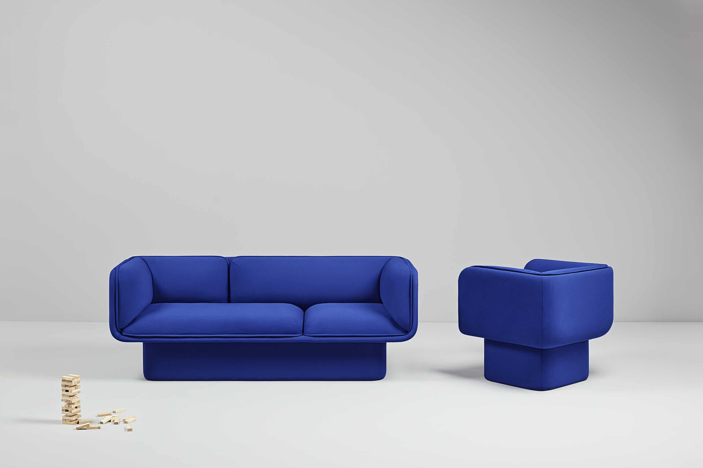 Missana block sofa with armchair haute living