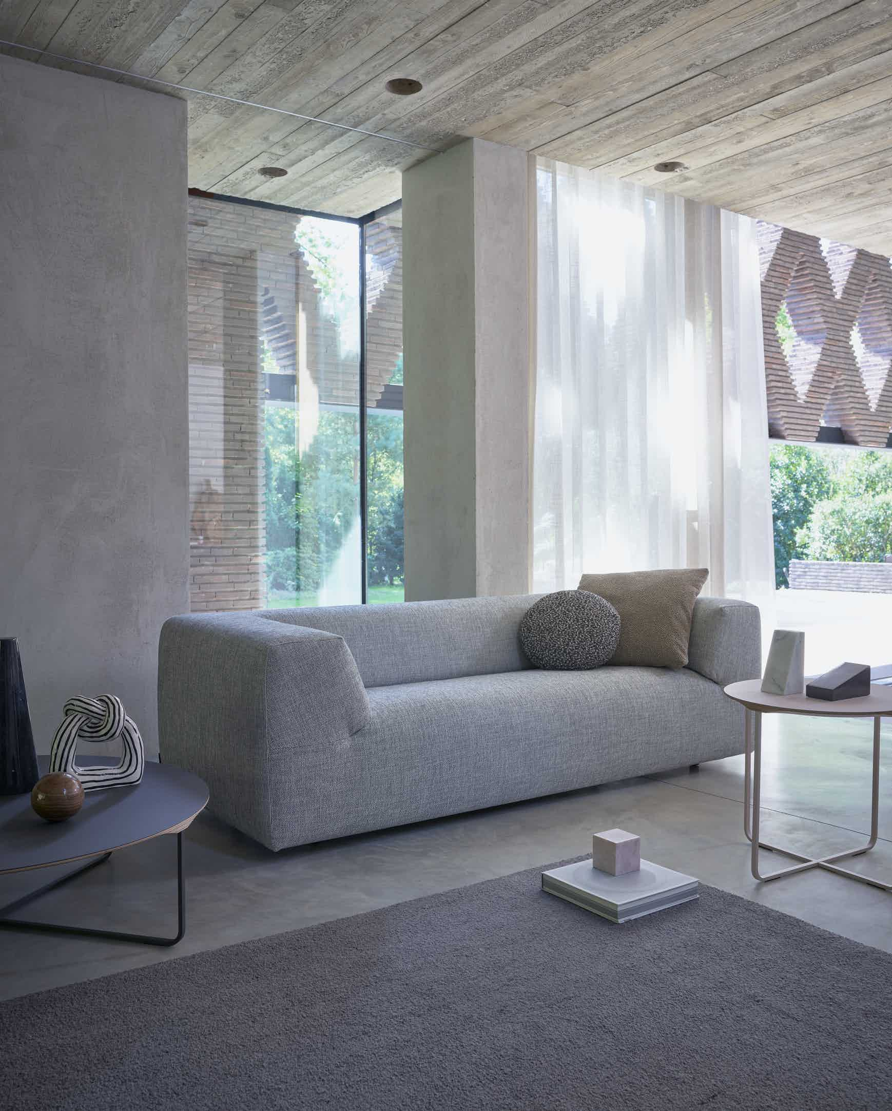 Montis aztec sofa grey insitu haute living