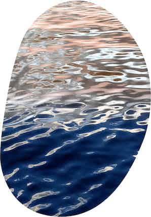 Moooi carpets fluid puddle haute living