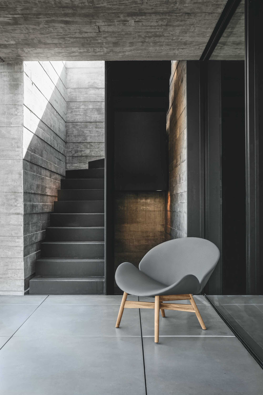 New Grey Dansk Lounge Chair