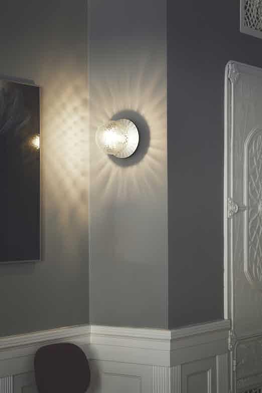 Nuura liila optic wall light insitu detail haute living