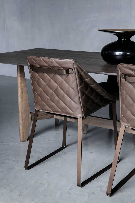 Piet boon kekke dining chair insitu haute living