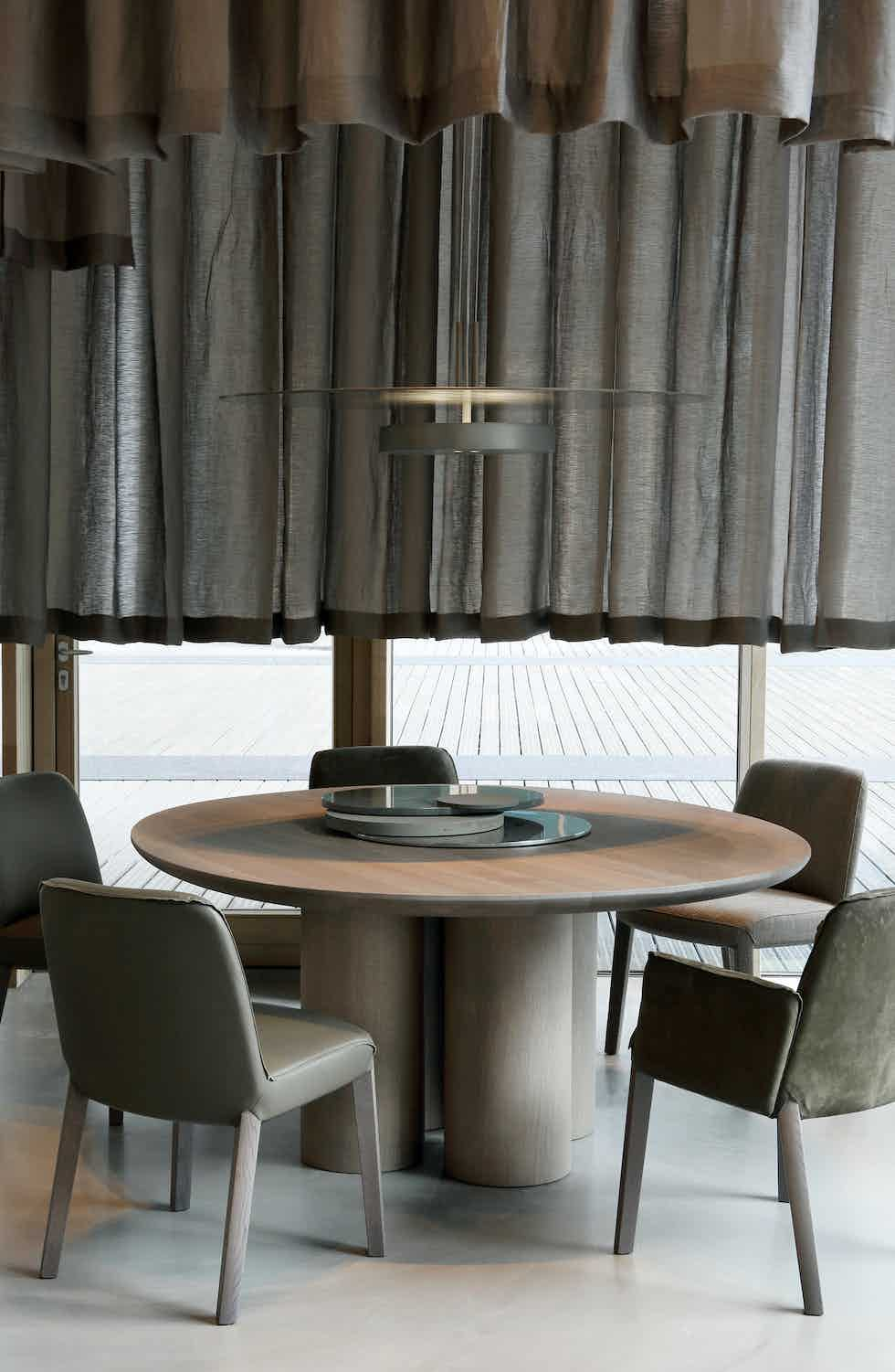 Piet boon olle dining table insitu haute living
