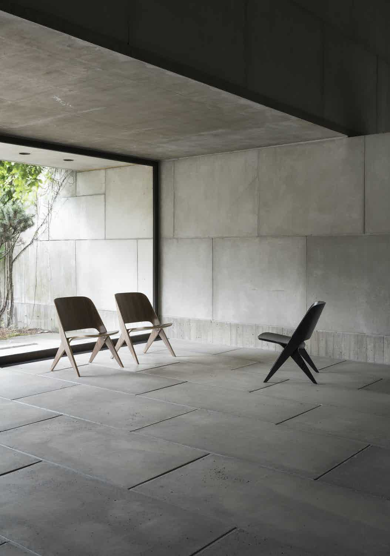 Poiat Lavitta Lounge Chair Insitu Trio Haute Living