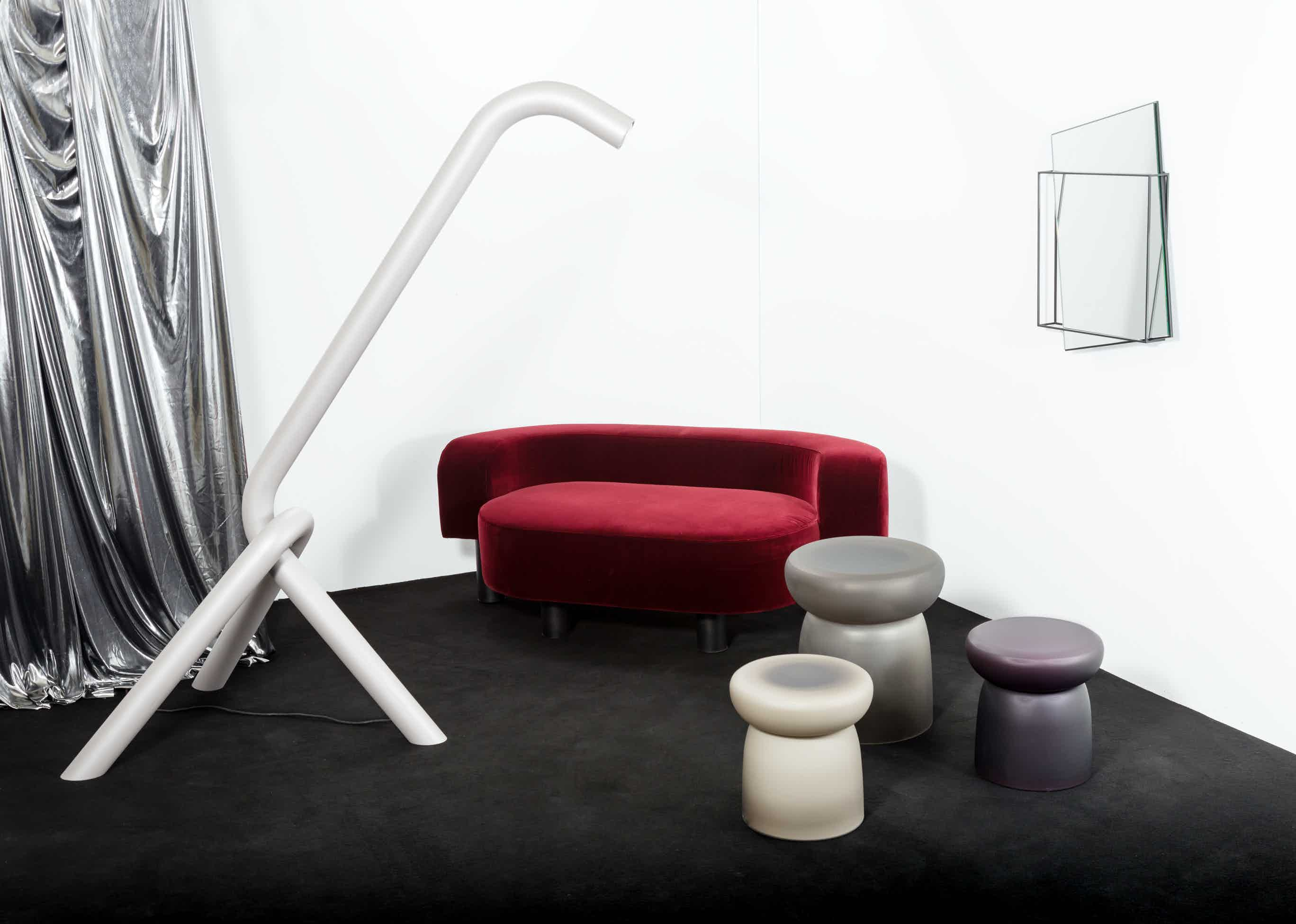 Pow sofa by pulpo at haute living chicago