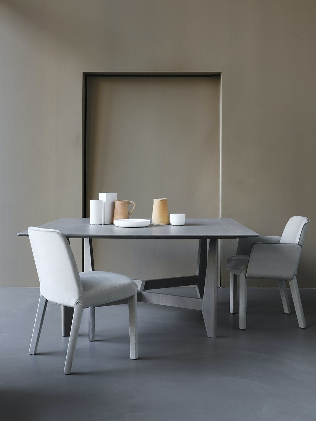 Product Design Dining Milan Furniture Fair Yke Table Minne Chair Ec 019 Tall