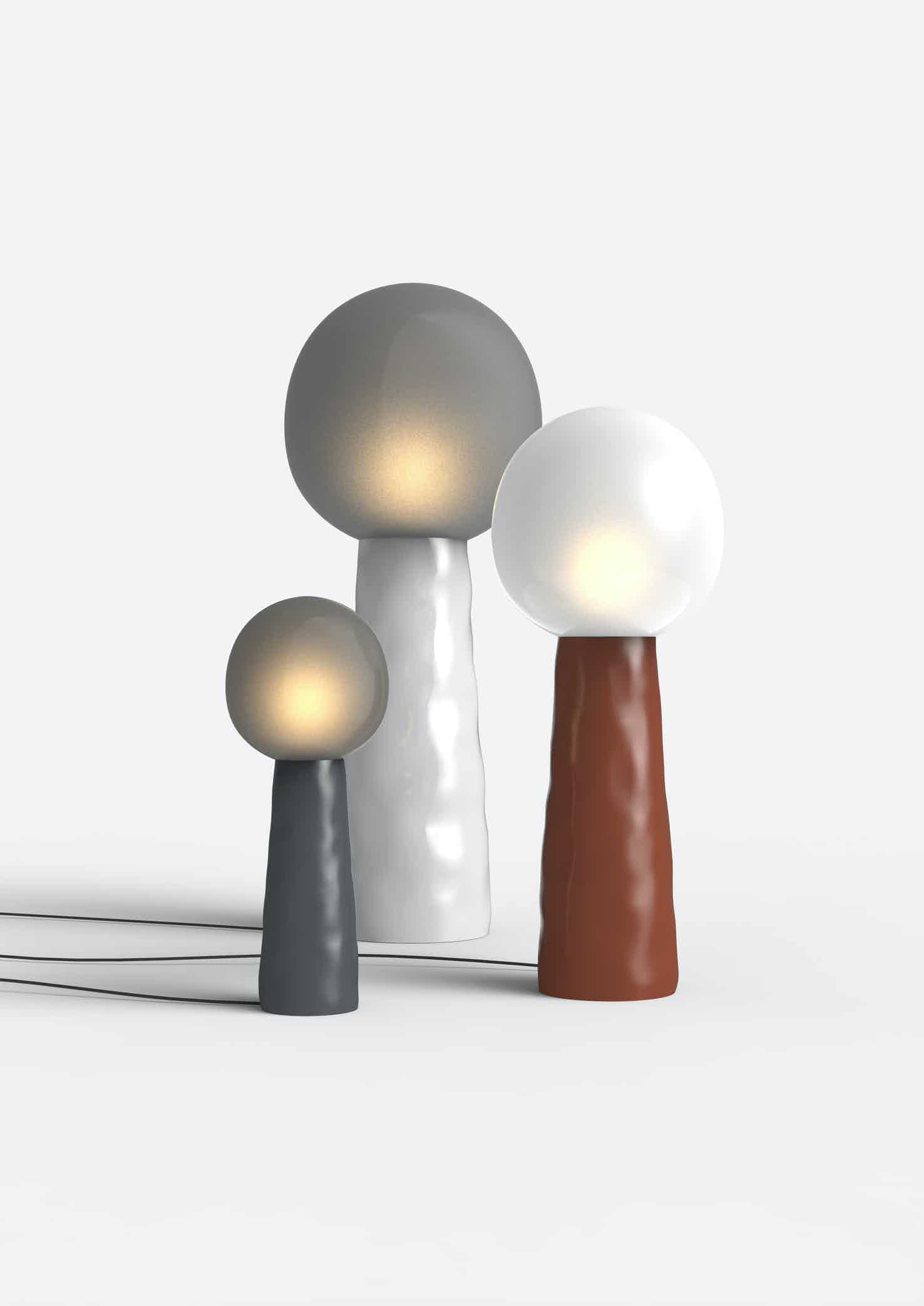 Pulpo furniture kokeshi lamp trio haute living