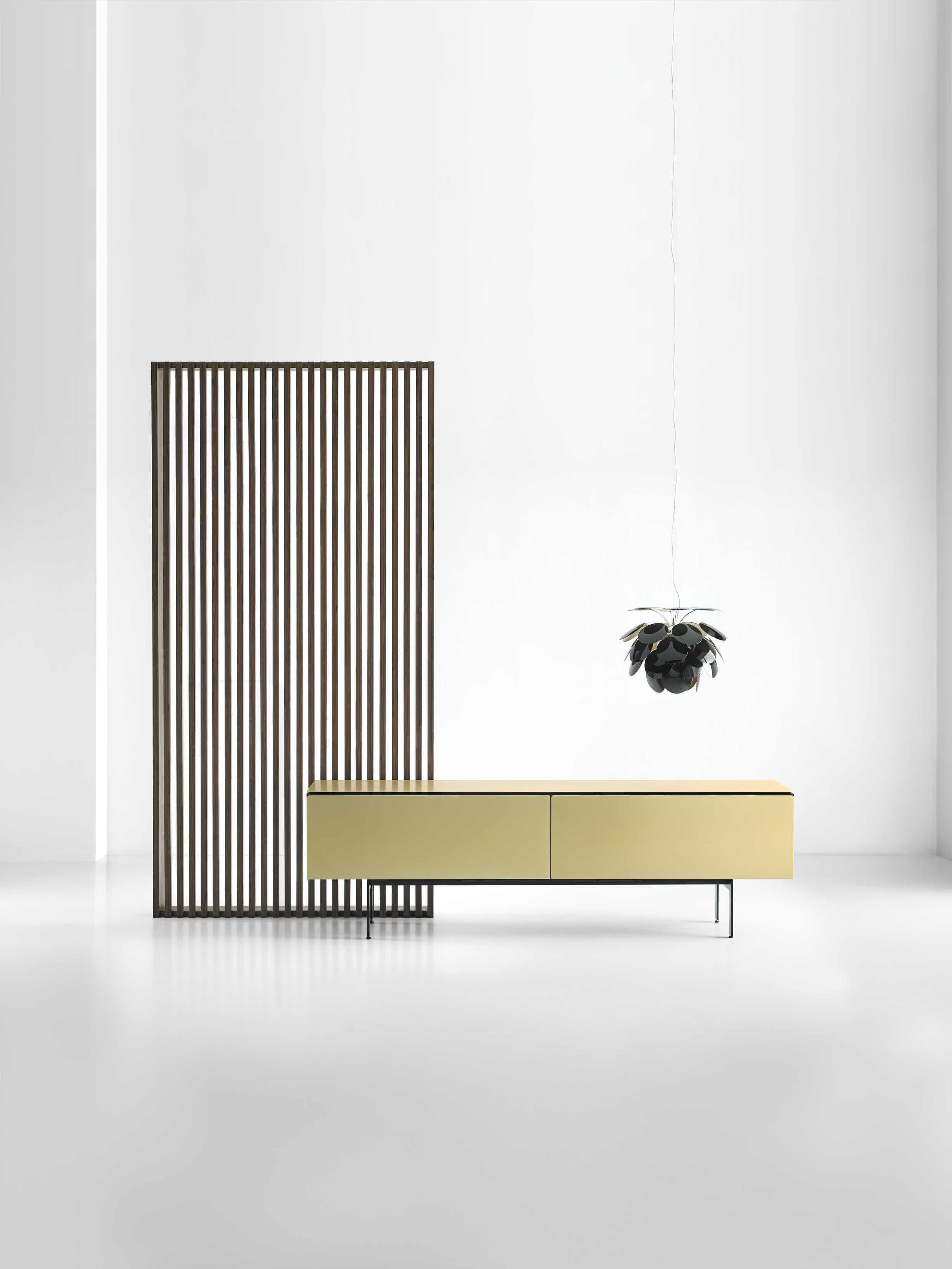 Punt furniture gold malmo sideboard front insitu haute living