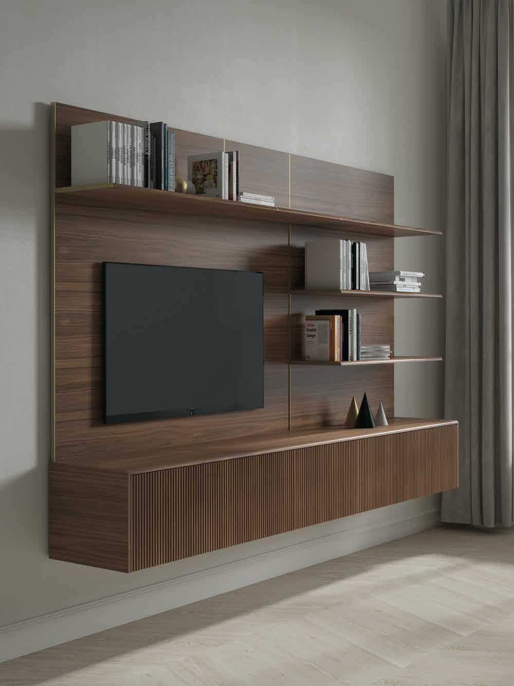 Punt furniture malmo storage system angle haute living