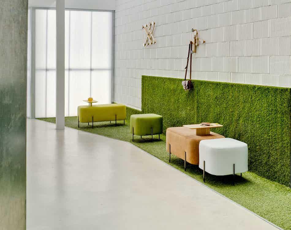 Sancal furniture elephant bench insitu haute living