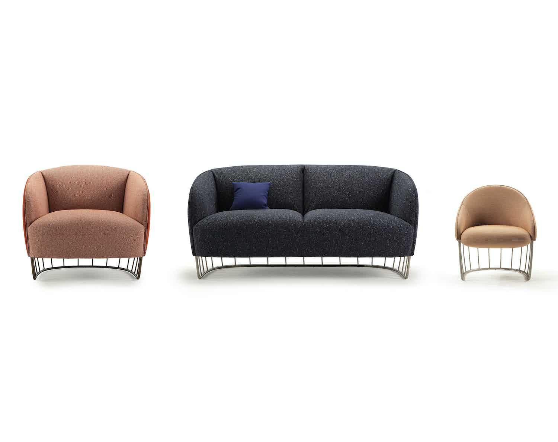 Sancal furniture tonella sofa trio haute living