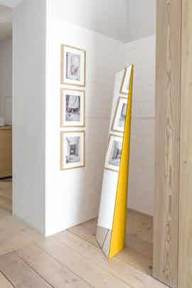 Schonbuch beam standing mirror insitu haute living