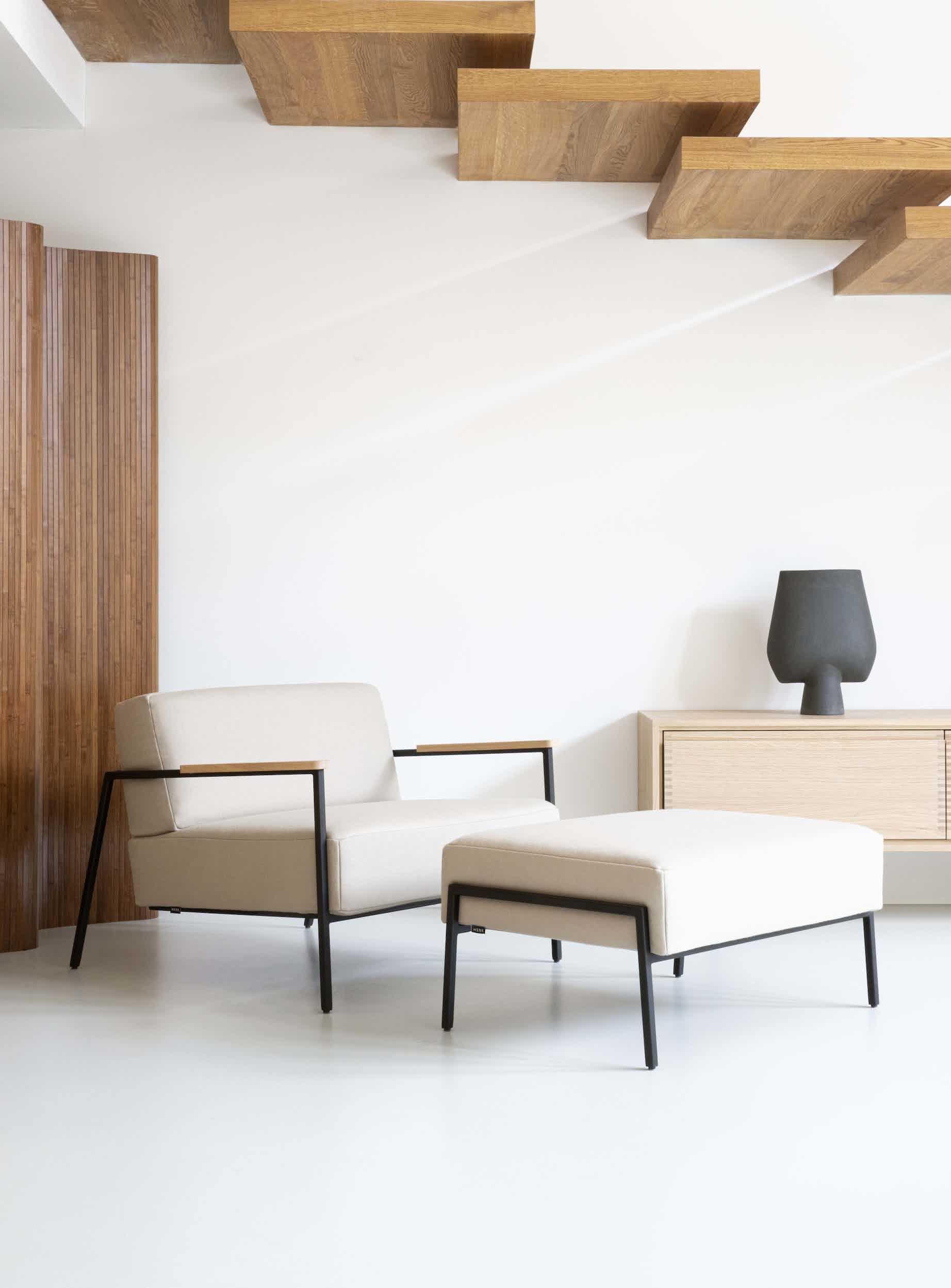 Studio henk insitu co lounge chair haute living