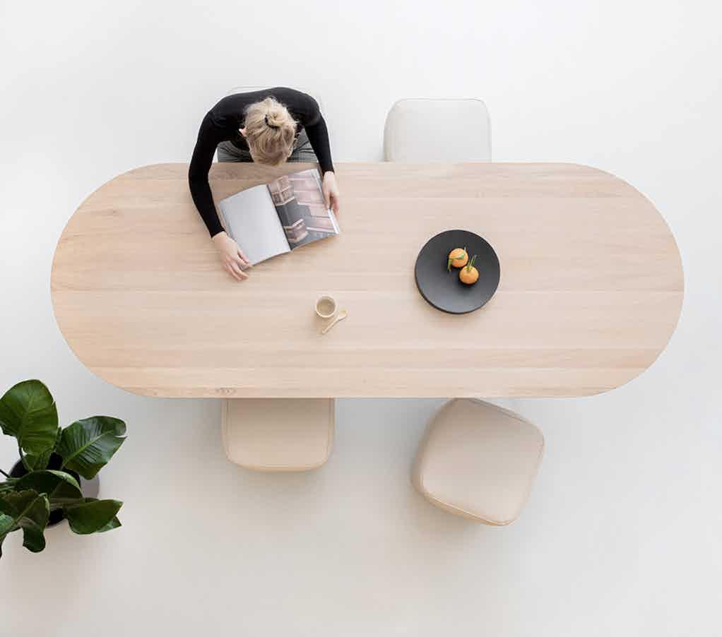 Studio henk slot table top oak haute living