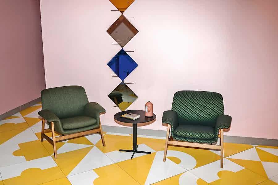Tacchini furniture agnese armchair green insitu haute living copy