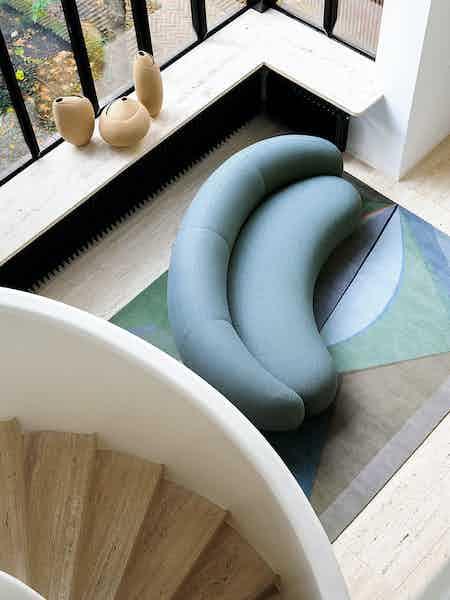 Tacchini julep sofa top haute living