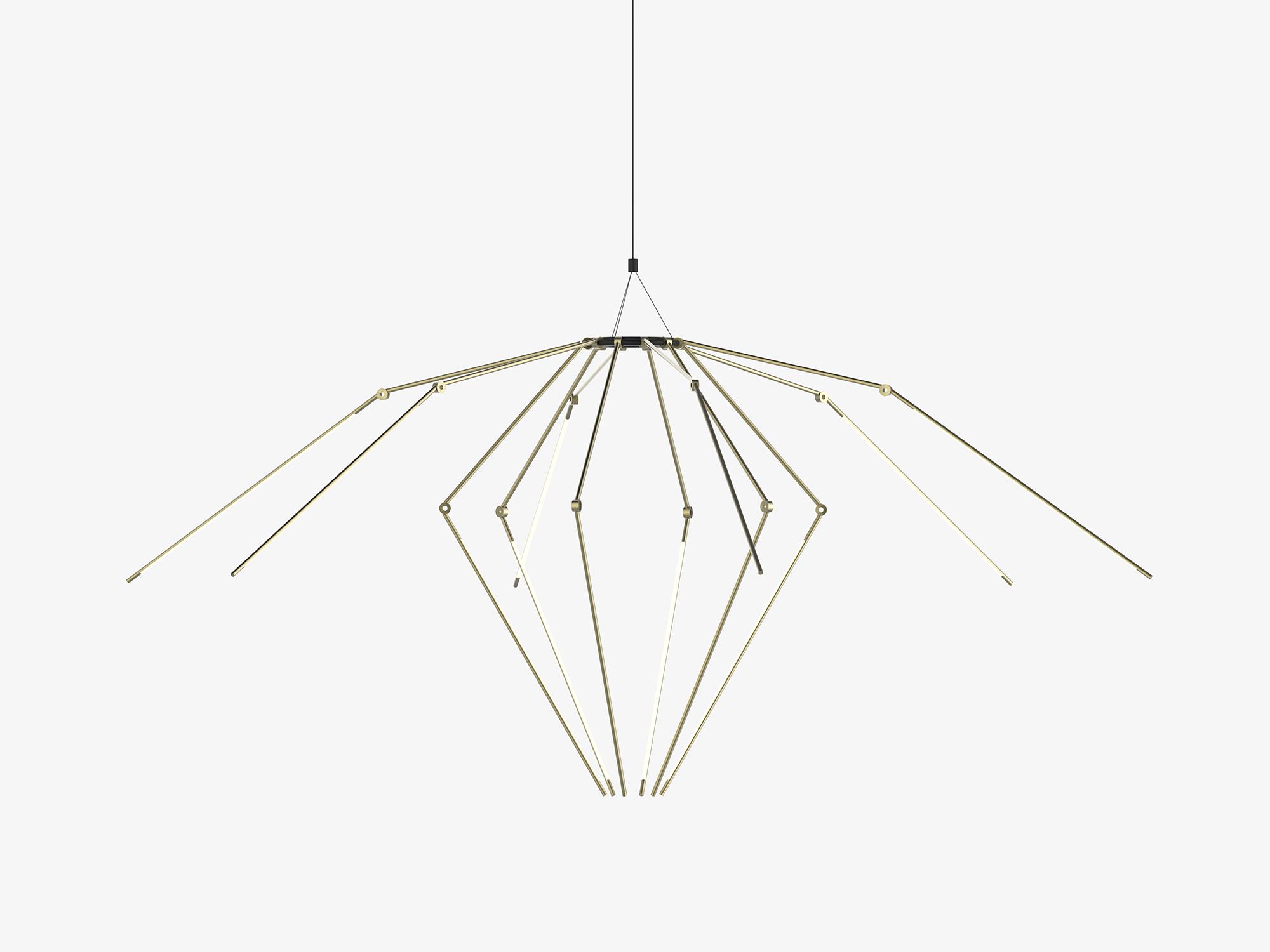 Thin Chandelier by Juniper Design
