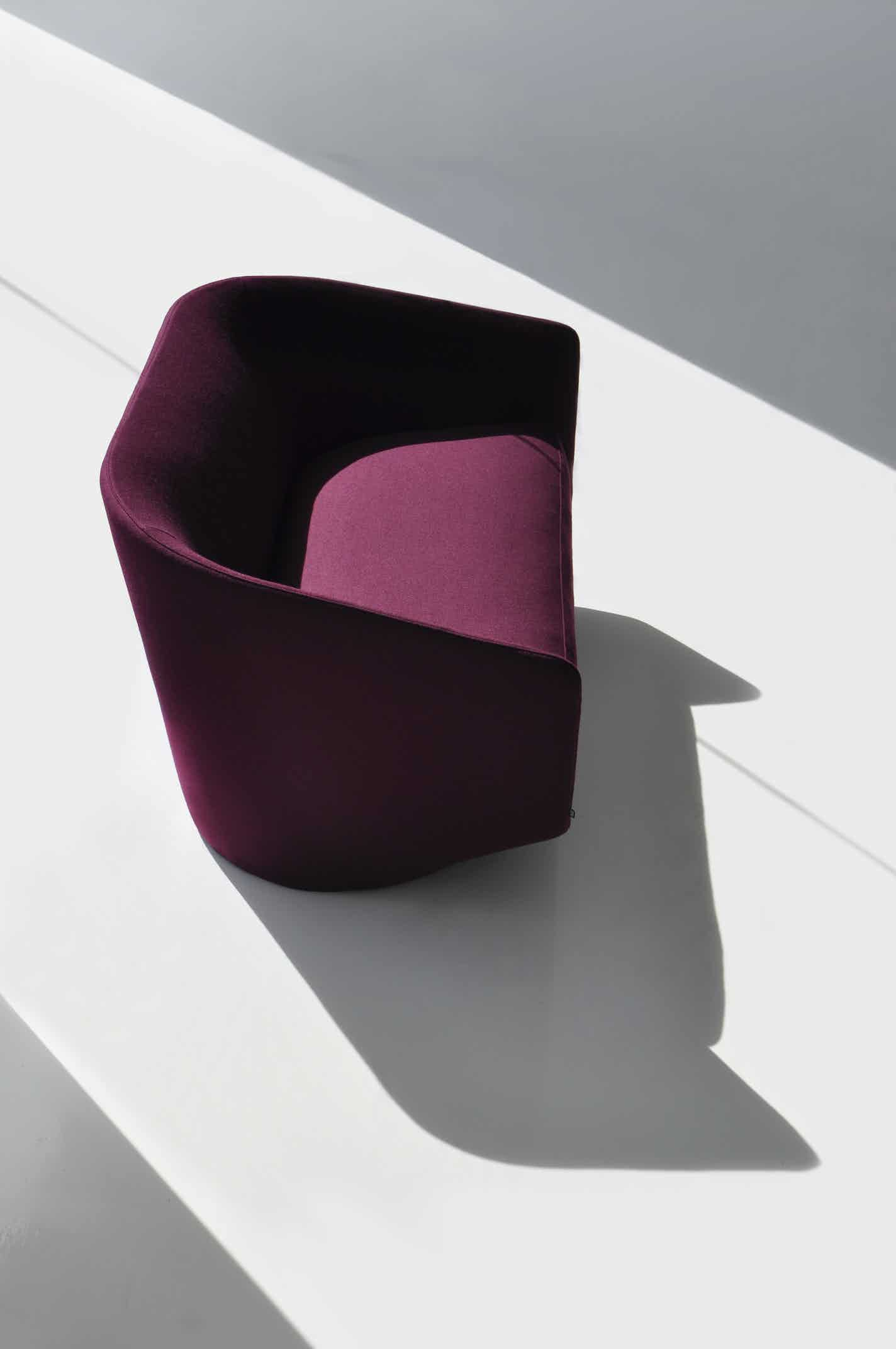U sofa by bensen at haute living chicago