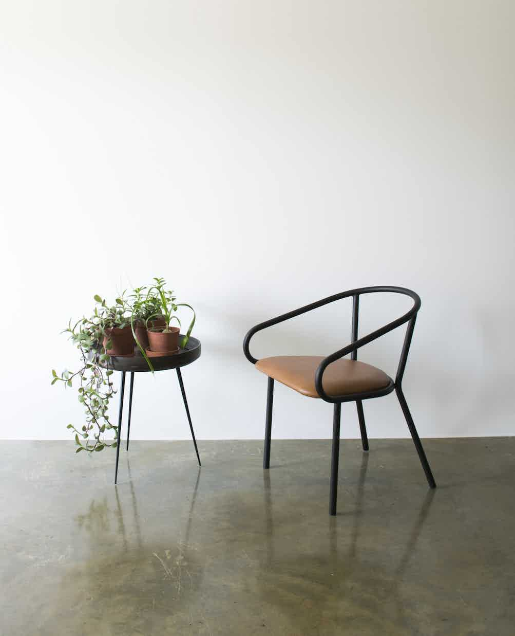 Wedge armchair by division 12 neocon haute living